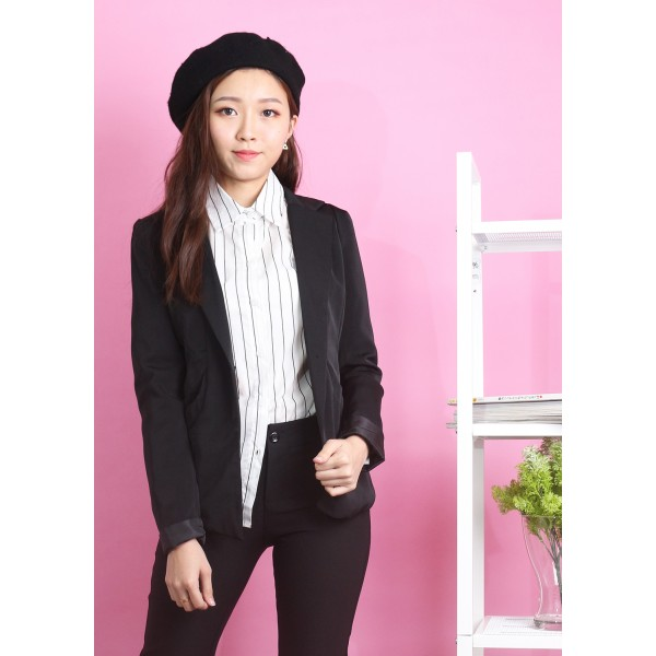 Lapel Pocket Blazer
